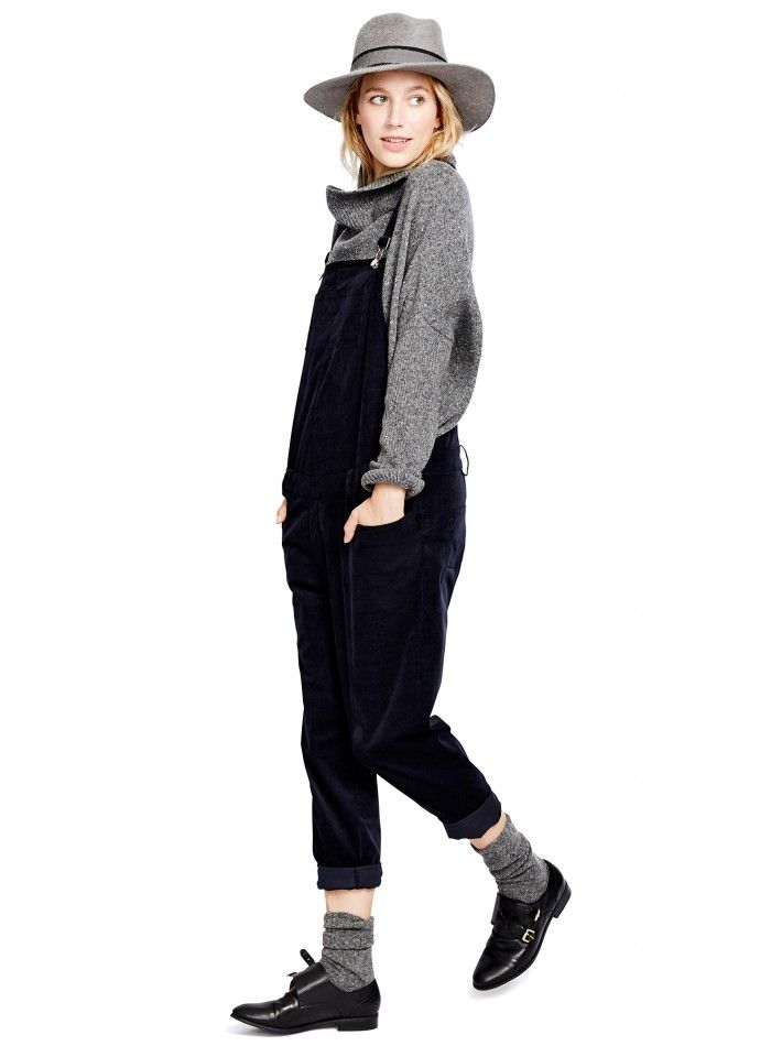 The Pollack Overall #HATCHCollection #Overalls #MaternityStyle
