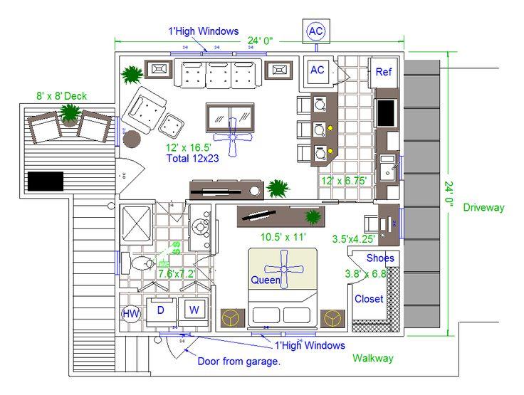 24 x 24 Highlander Garage Apartment