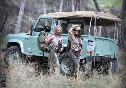TOP MODELS...I'm tall land rover series about, sure?