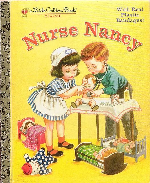 Nurse Nancy, Illustrations by Corinne Malvern, 1952- Cover (2005 reissue)