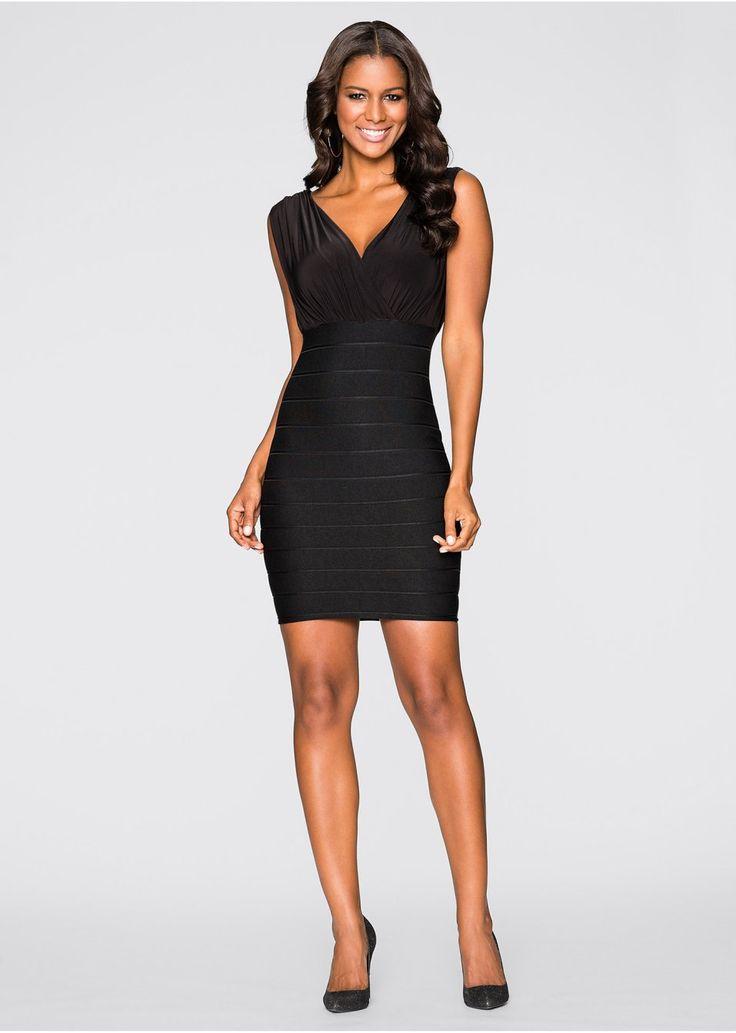 Sukienka modelująca figurę Sukienka z • 89.99 zł • bonprix