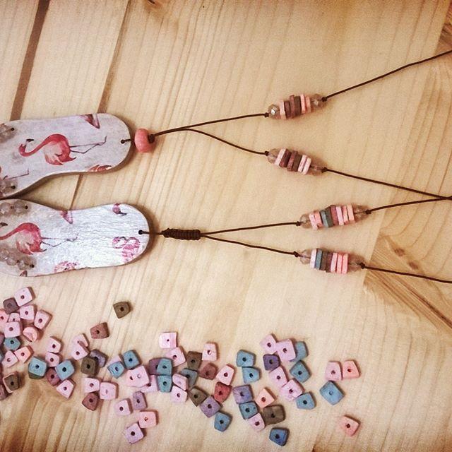 #shewoods #handmade #wooden #jewellery #summer #greece #summer2017 #stoapsyrri #flipflops #shewoods