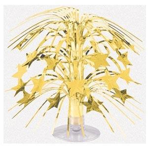 Mini Cascade Centrepiece - Gold
