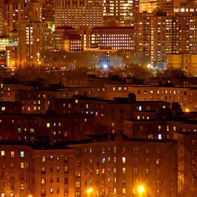 I <3 NY. Maze of lights shot by Inga Sarda-Sorenson