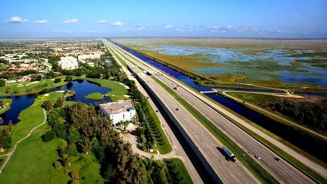 I-75, Naples to Broward County, Florida