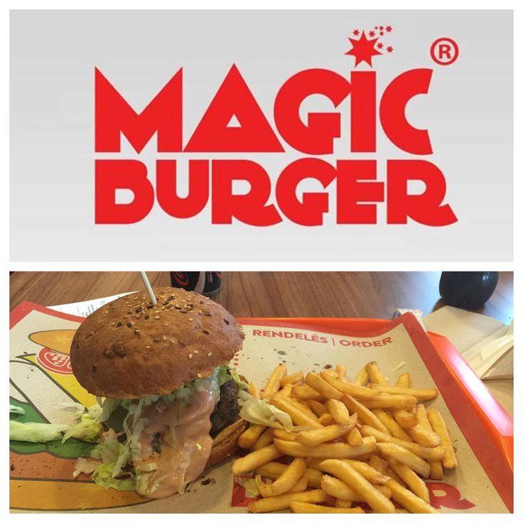 "Magic Burger Bar | ""Jucy Lucy"" - 1550 HUF | Burger: 8/10 | Hely: 4/10 | Kiszolgálás: - (Self-Service)"