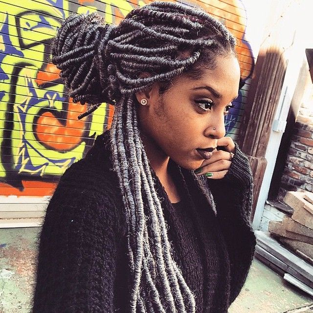Pleasant 148 Best Faux Locs Images On Pinterest Natural Hairstyles Hairstyles For Men Maxibearus
