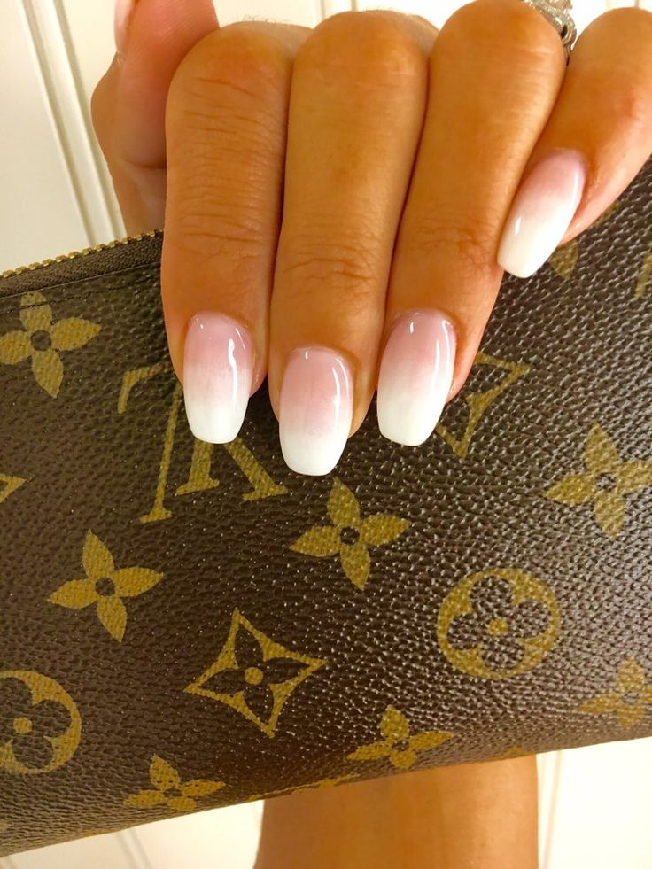 Photo of Richmond Nail Salon - San Francisco, CA, United States. Ombré fade pink to white!;))