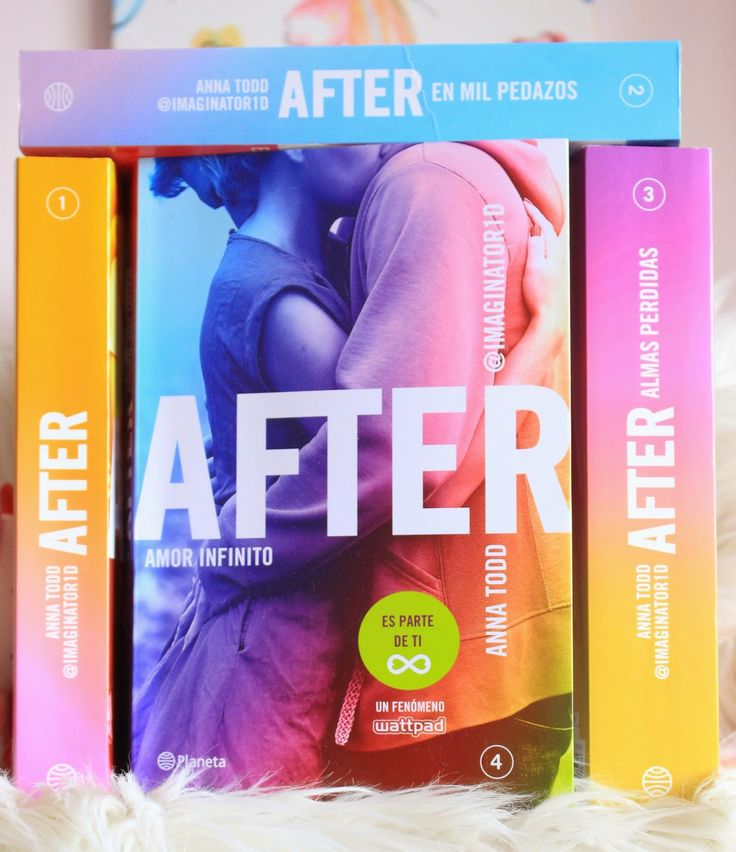 alii in the Wonderland: After 4. Amor infinito - Anna Todd