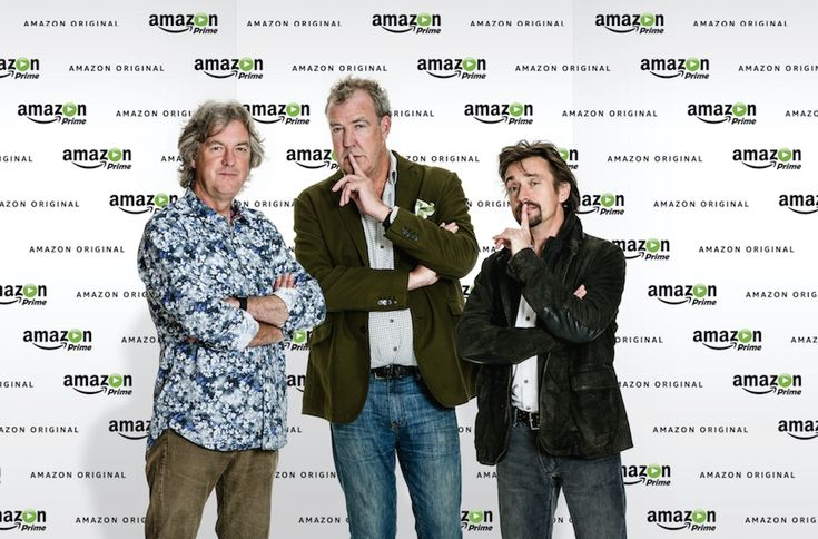 Amazon snaps up former 'Top Gear' trio for new motoring show. #amazon #motoringnews #topgear #JeremyClarkson
