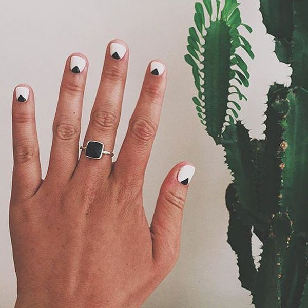 """Everyone gets a manicure right before they go on vacation. [My top nail tip is to] ask your salon to give you a pair of disposable gloves so that you can wear them while you pack. Packing is a huge amount of the wear and tear on your nails."" #refinery29 http://www.refinery29.com/2015/08/92917/olive-june-nail-salon-sarah-gibson-tuttle-interview#slide-12"
