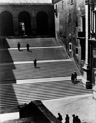 Rom, Aufgang zum Kapitol, 1932 - Max Pfeiffer Watenpuhl