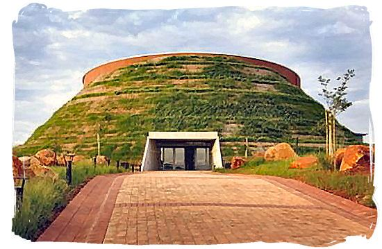 MAROPENG - in the Cradle of Humankind, a World Heritage Site. Great, interactive museum.