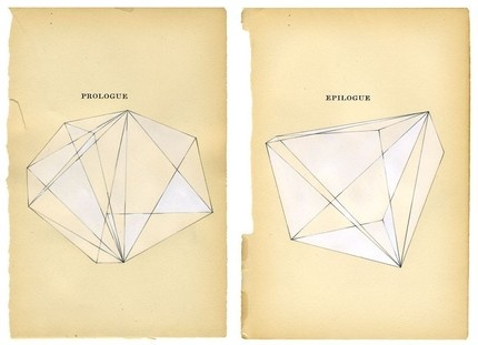 Nina Jeffries, Prologue/Epilogue: Olivia Jeffri, Artists, Old Book Pages, Drawings, Geometric Art, Epilogu Pairings, Prologu Epilogu, Prints, Prologue Epilogu
