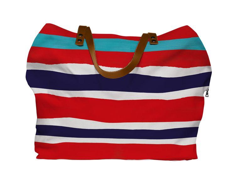 Cotton Canvas Weekend Bag Rimini
