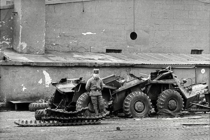 Sovětská technika roku 1991, foto by Dana Kyndrová