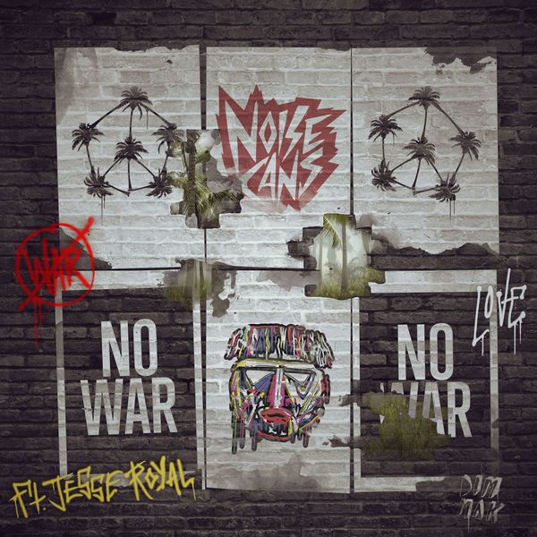 Noise Cans feat. Jesse Royal - No War (Dim Mak Records)  #DimMakRecords #JesseRoyal #JesseRoyal #LilyofDaValley #Masquerave #NoWar #NoiseCans #NoiseCans