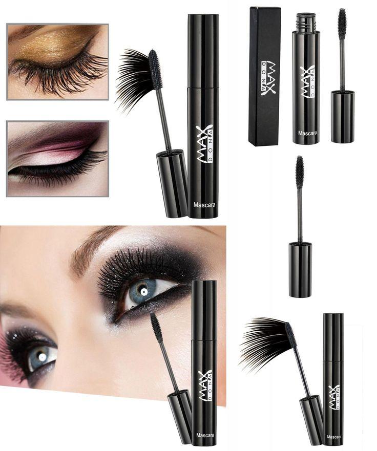 [Visit to Buy] New Hot Natural Fast Dry Mascara Waterproof Black Eyes Lash Extension Curling 3D Mascaras Makeup Cosmetics   #Advertisement