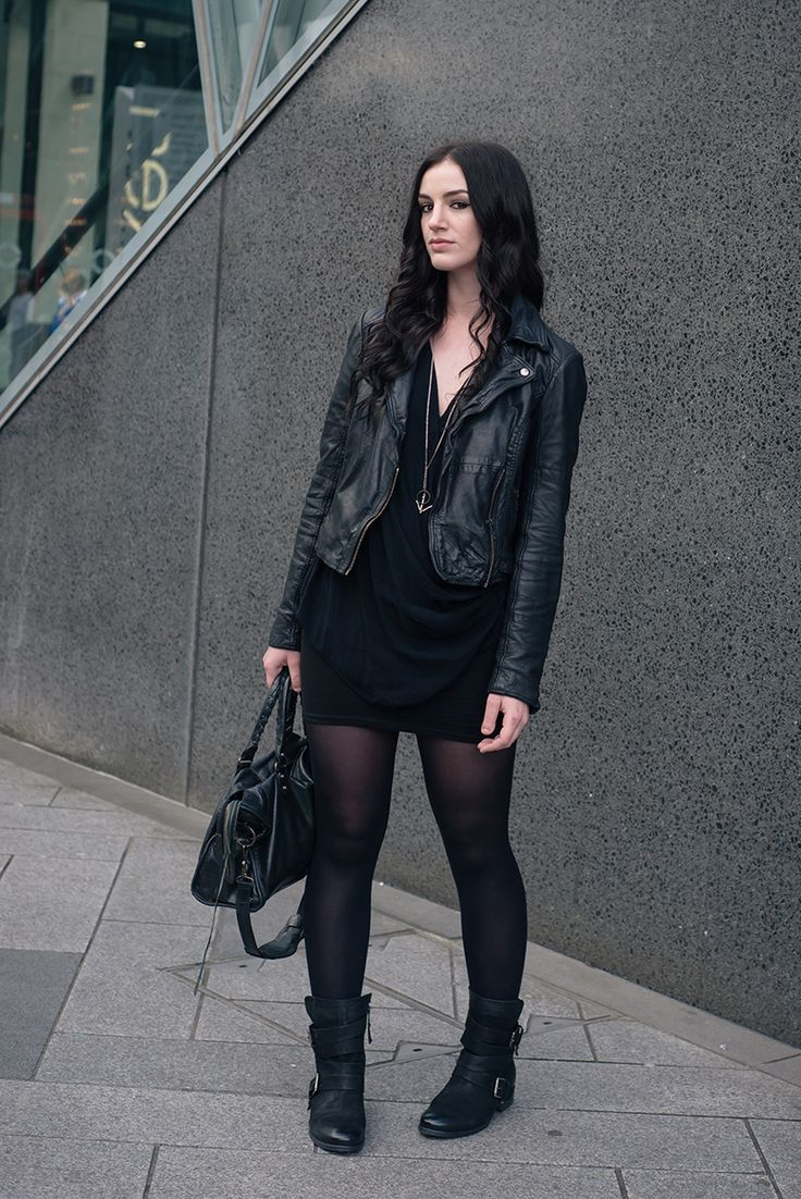 Women All Black Outfits - 20 Chic Ways to Wear All Black