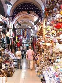 Visited the famous markets in Istanbul.
