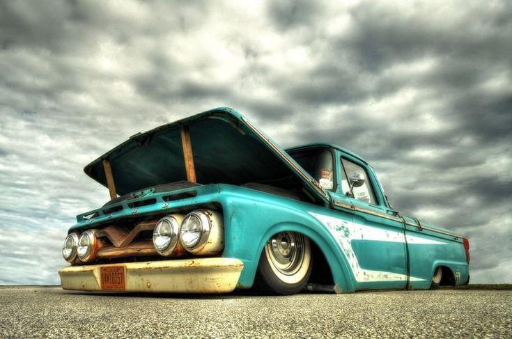 Rat Rod — это ветхие, старые автомобили.