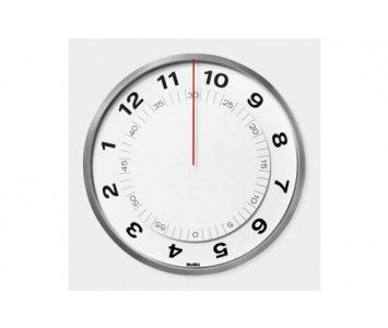 Klein and More MoMA Dial Clock Wanduhr
