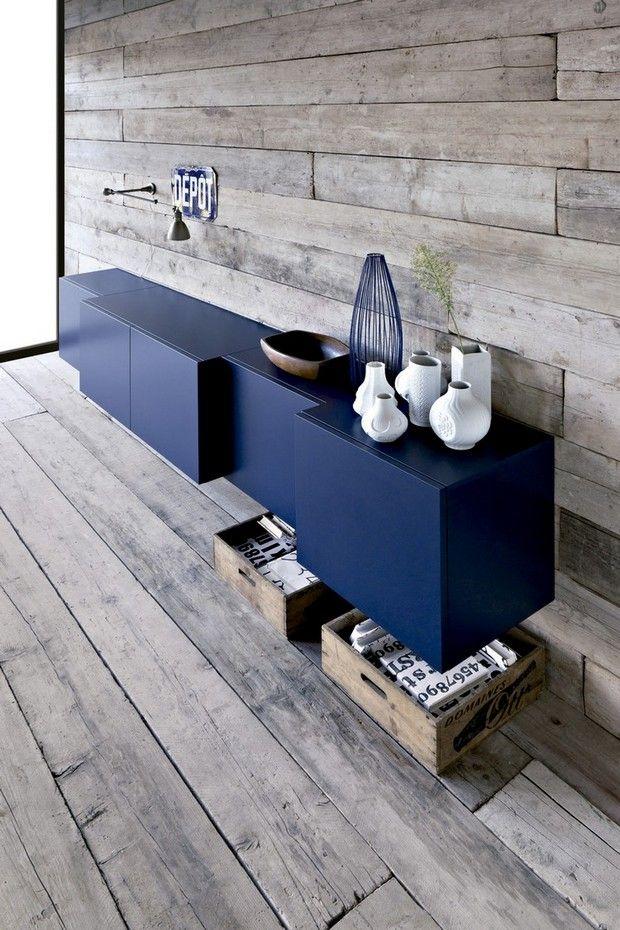 des meubles bleus!!