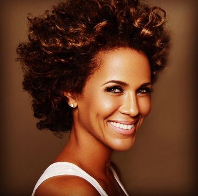 nicole ari parker natural hair - Google Search