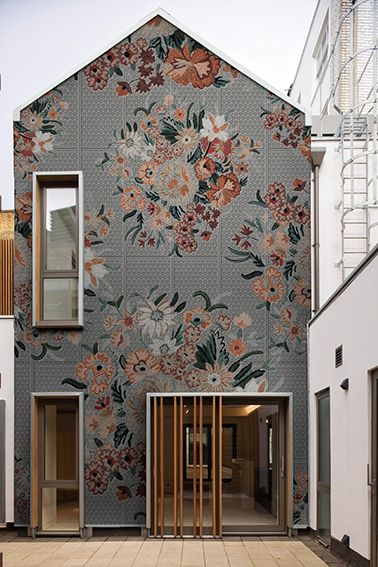 exterior wall wallpaper. exterior wallpaper wet system flo\u0027 by wall \u0026 deco g