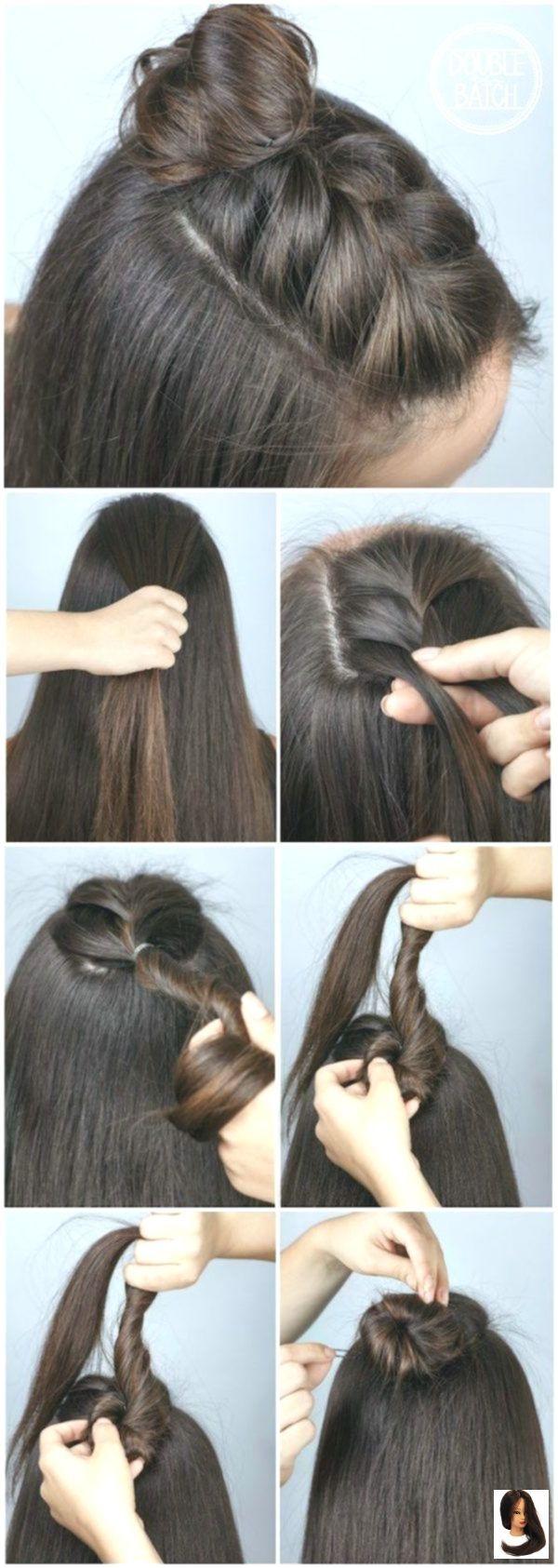 #Einfach #Einfache Frisuren Unordentlich #Frisuren #Schritt Einfache Frisuren 2019 Schritt für Schritt ...