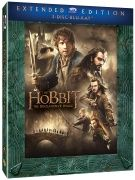 Hobbit del 2: Smaugs ödemark - Extended Edition (Blu-ray) (3 disc) - Blu-ray - Film - CDON.COM