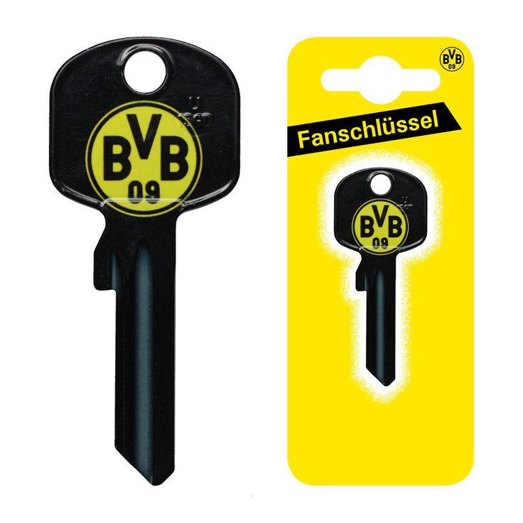 Borussia Dortmund  BVB  Fanschlüssel Schlüsselrohling U-15D Bundesliga Schlüssel