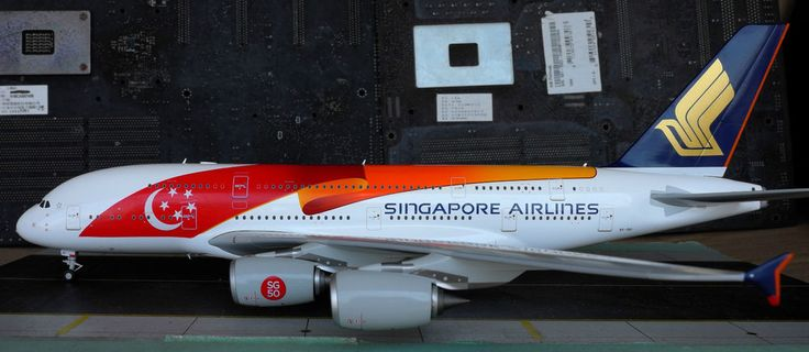 Singapore Airlines A380 SG50 JC Wings 1:200