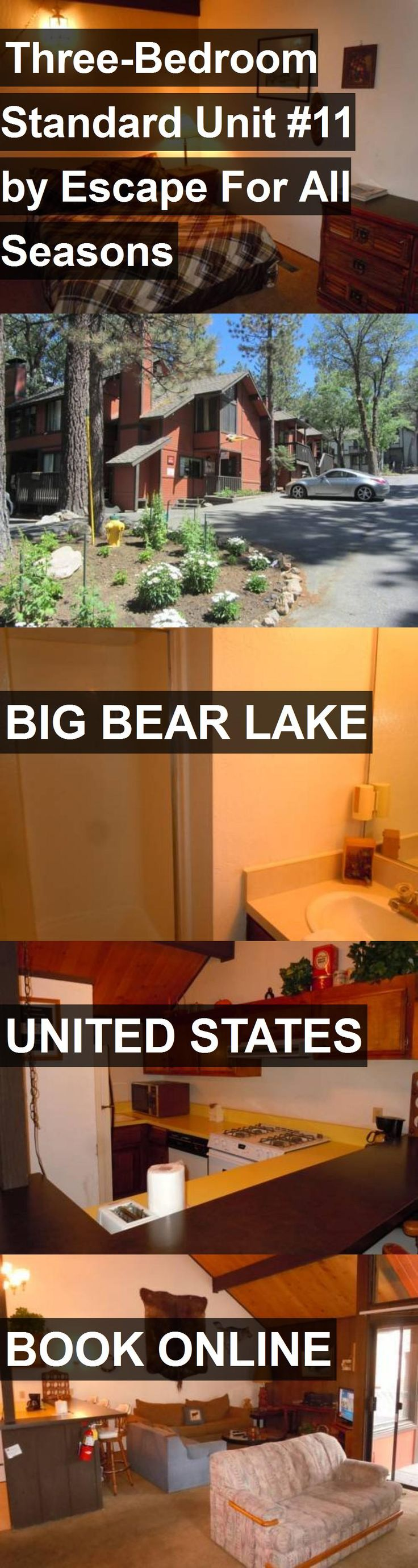 Hotel Three-Bedroom Standard Unit #11 by Escape For All Seasons in Big Bear Lake, United States. For more information, photos, reviews and best prices please follow the link. #UnitedStates #BigBearLake #travel #vacation #hotel