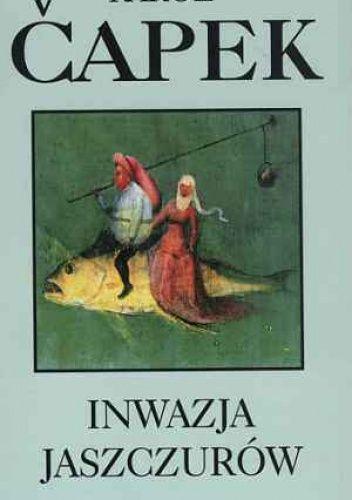 Okładka książki Inwazja jaszczurów