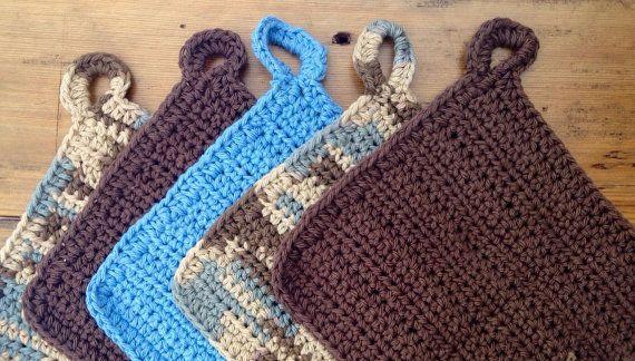 Crochet dish cloths, crochet wash cloths, dish cloth se, wash cloth set, crochet washcloth, dish rag, dishcloth, dish towel, Eco Friendly