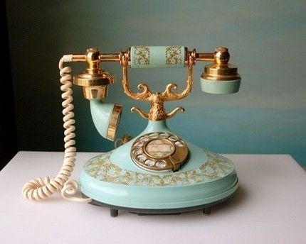 An old fashioned 'French' phone