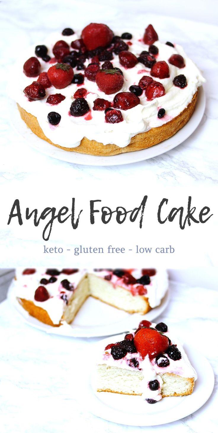 Keto angel food cake recipe angel food angel food