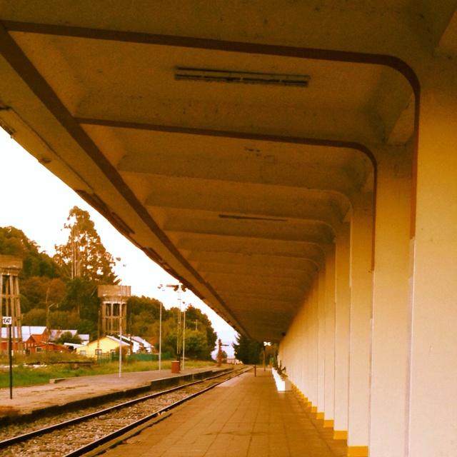 Ex estación, Puerto Varas.   Adonde tengo que ir algun día no muy lejano