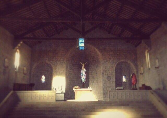 Chiesa di S. Andrea a Pianoscarano, interno.