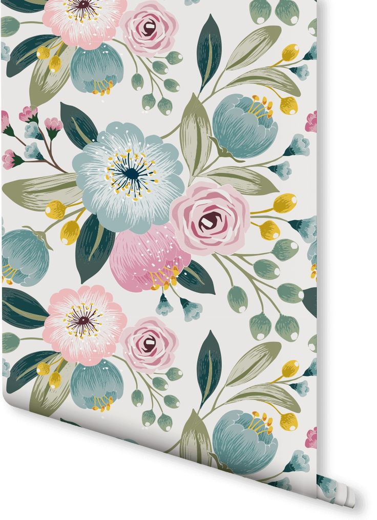 Our Wildflower wallpaper features a beautifully detailed floral design. The green, pink and yellow hues of these illustrated wildflowers give this floral print a wonderful variety and eye catching quality. Equally suited to the living room or the bedroom, partner this wall mural with dark green tones to inspire balance and harmony in your home.