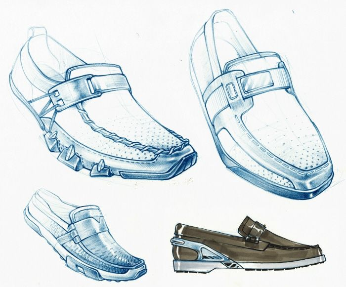 Footwear by Aaron Street at Coroflot.com · Product Design SketchingProduct  ...