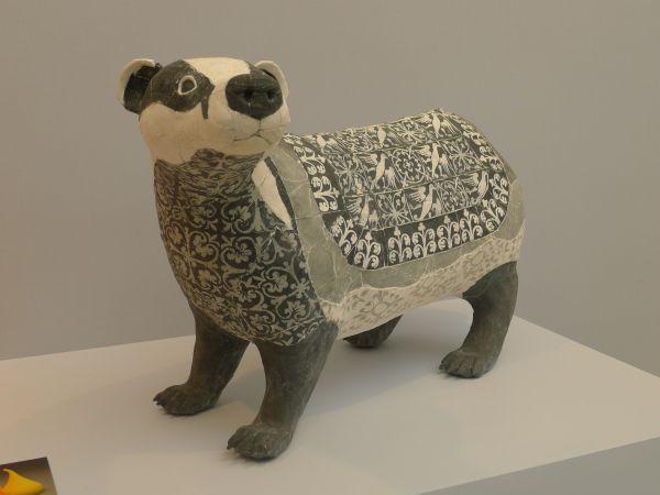 Susan O'Byrne's porcelain paperanimals