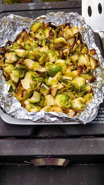 How to Grill Brussels Sprouts - love her directions! it's great when a recipe makes you giggle.