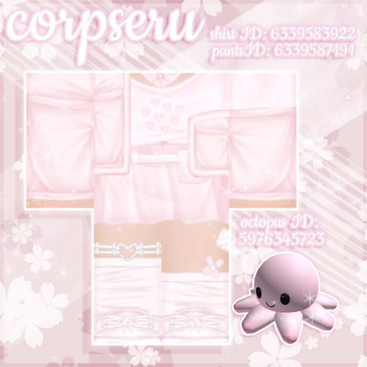Detailed pinkbaby blue kawaii roblox outfits with