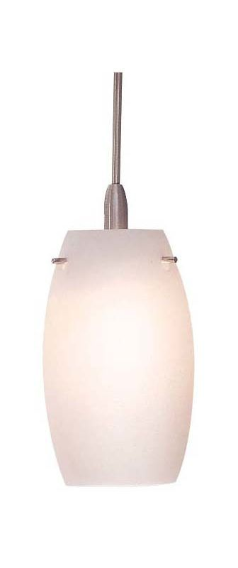 Kovacs GKSH2004 Hand Blown Oval Glass Shade in Etched Opal for the Series 6 GK L Etched Opal Indoor Lighting Track Lighting Accessories