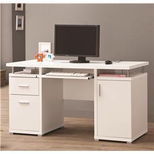 Beautiful Writing Desk with Matching File Cabinet