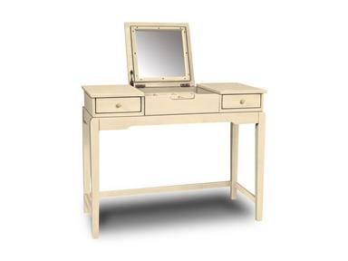 Shop+for+John+Thomas+Vanity+w/+flip+up+mirror,+DT-2,+and+other+Bedroom+Vanity+Tables+at+Whitewood+in+Thomasville,+NC.+Vanity+w/+flip+up+mirror.