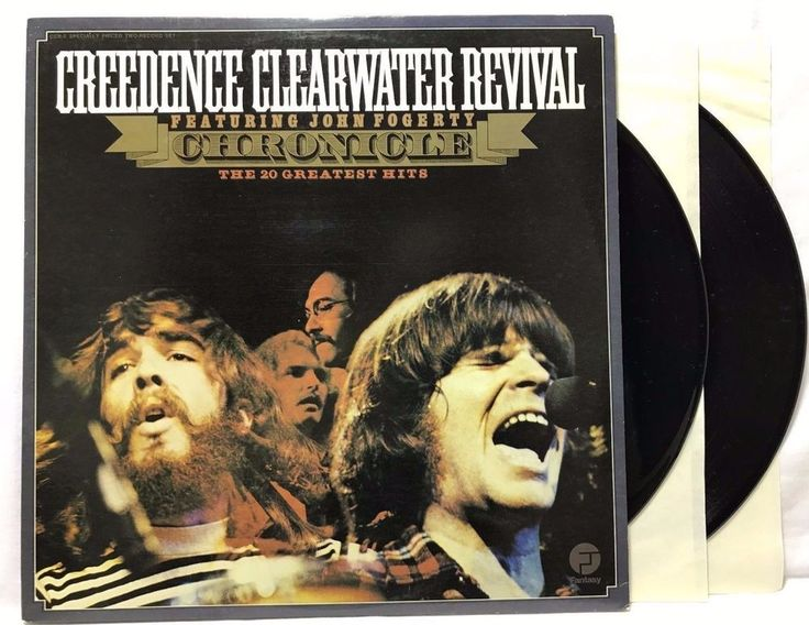 Creedence Clearwater Revival Chronicle Greatest Hits Fantasy CCR-2 Vinyl Record