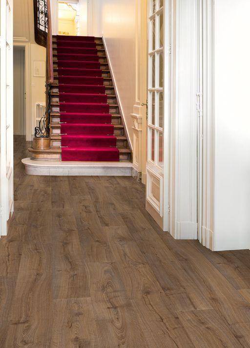 QuickStep LARGO Cambridge Oak Dark Planks Laminate Flooring 9.5 mm, QuickStep Laminates - Wood Flooring Centre